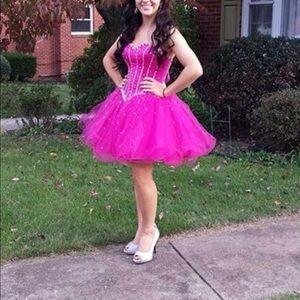 Dresses & Skirts - PINK CORSET DRESS